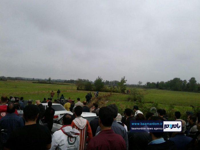 جسد شکارچی 35ساله در مزارع اطراف لاهیجان 2 - جسد شکارچی 35ساله در مزارع اطراف لاهیجان پیدا شد + گزارش تصویری