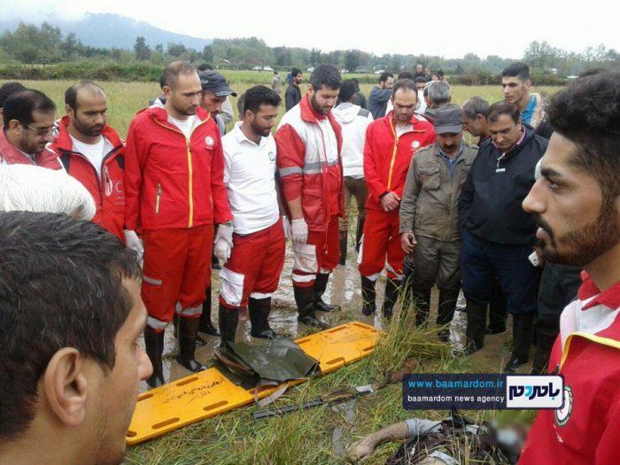جسد شکارچی 35ساله در مزارع اطراف لاهیجان 4 - جسد شکارچی 35ساله در مزارع اطراف لاهیجان پیدا شد + گزارش تصویری