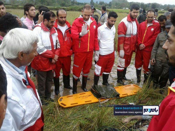 جسد شکارچی 35ساله در مزارع اطراف لاهیجان 5 - جسد شکارچی 35ساله در مزارع اطراف لاهیجان پیدا شد + گزارش تصویری