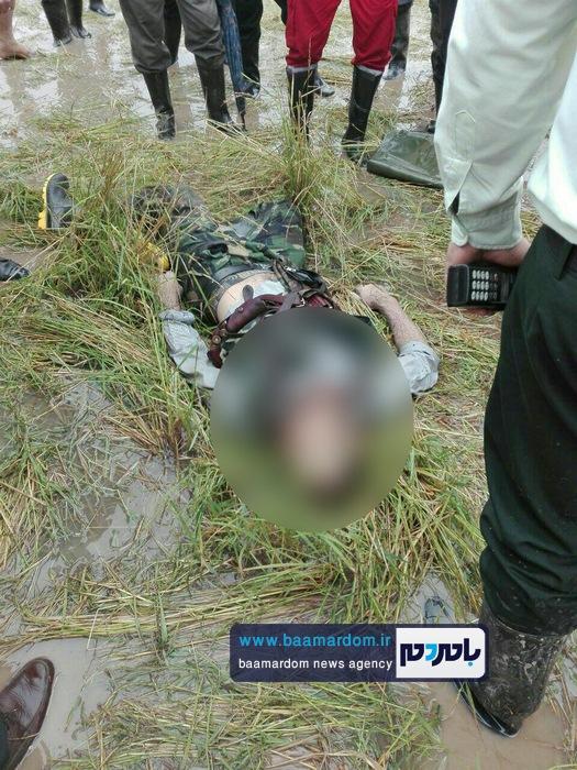 جسد شکارچی 35ساله در مزارع اطراف لاهیجان 8 - جسد شکارچی 35ساله در مزارع اطراف لاهیجان پیدا شد + گزارش تصویری
