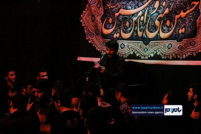 مراسم دهه دوم محرم در دانشگاه ازاد لاهيجان برگزار شد + تصاویر