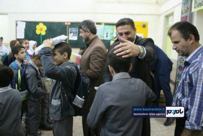 حضور شهردار، رئیس و نایب رئیس شورای شهر آستانهاشرفیه در مدرسه استثنایی + تصاویر