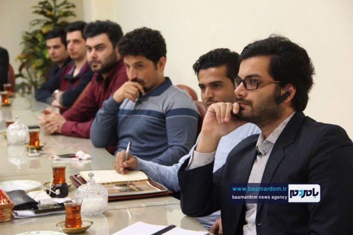 دیدار مسئولین ستاد جوانان دکتر روحانی با فرماندار لاهیجان   گزارش تصویری
