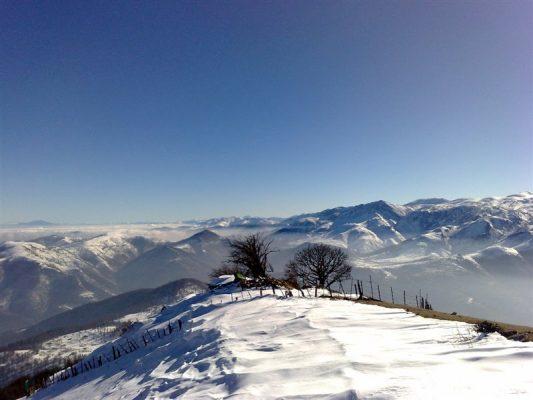 قله برزکوه تالش 533x400 - کوهنوردان پیشکسوت استان گیلان به قله برزکوه