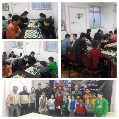 هفتگي شطرنج در لاهیجان برگزار شد 400x400 - مسابقات هفتگي شطرنج در لاهیجان برگزار شد