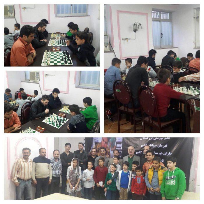 مسابقات هفتگي شطرنج در لاهیجان برگزار شد