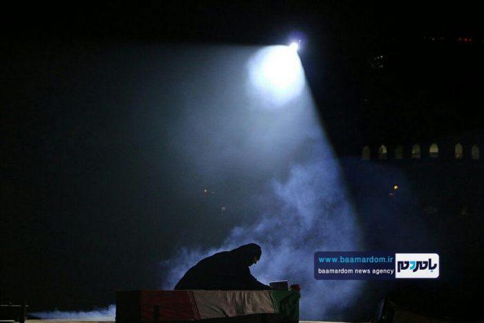 گزارشتصویری نمایش قافله عاشقی در حرم مطهر شهدای آستانهاشرفیه