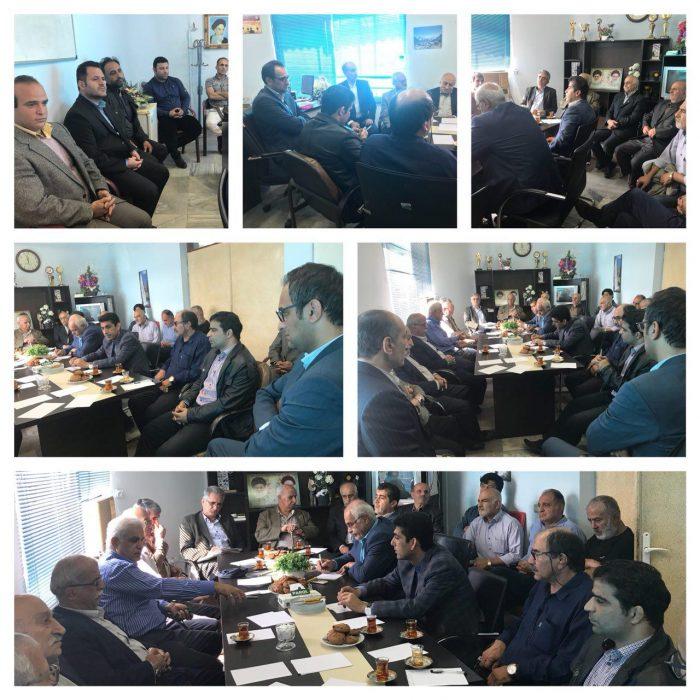 عضو شورای شهر رییس هیئت کشتی لاهیجان شد + عکس
