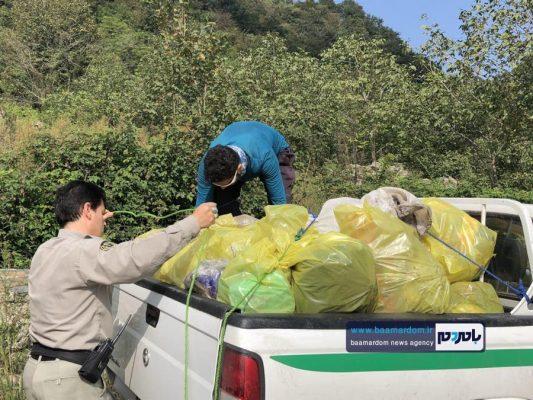 پاکسازی مسیرهای منتهی به بام سبز لاهیجان از زباله 10 533x400 - پاکسازی مسیرهای منتهی به بام سبز لاهیجان از زباله | گزارش تصویری