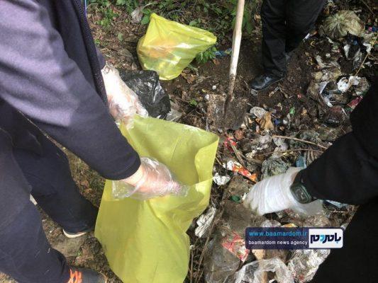 پاکسازی مسیرهای منتهی به بام سبز لاهیجان از زباله 16 533x400 - پاکسازی مسیرهای منتهی به بام سبز لاهیجان از زباله | گزارش تصویری