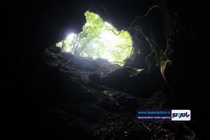 پیمایش غارهای منطقه عطاکوه و سرچشمه لاهیجان + گزارش تصویری