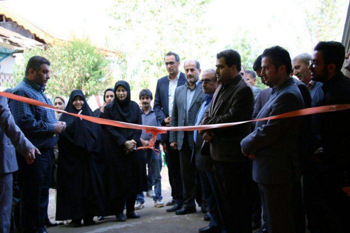 گشایش نخستین خانه ورزش روستایی گیلان در لاهیجان