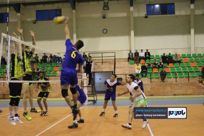 گزارش تصویری دیدار هیات والیبال لاهیجان و شهرداری لنگرود