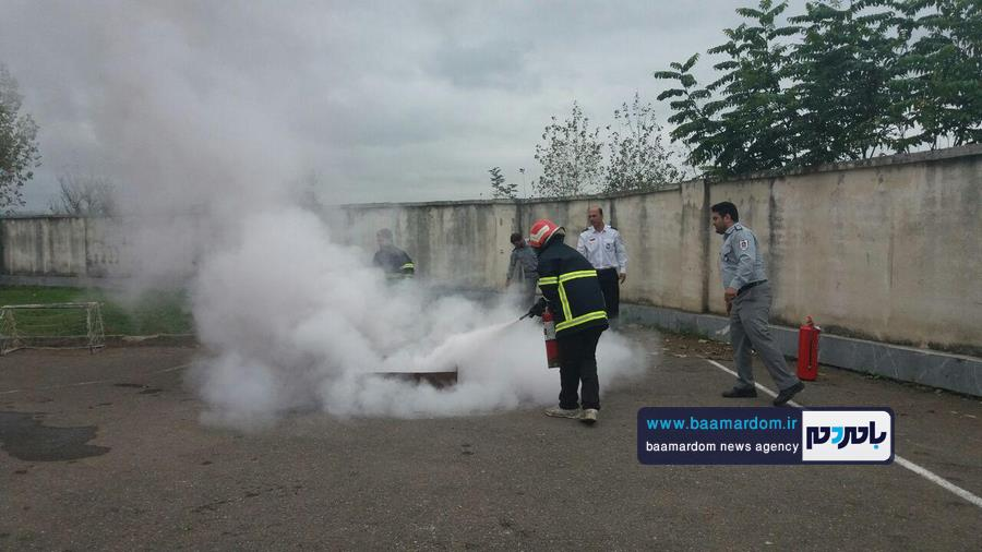 برگزاری مانور پدافند غیر عامل در رودبنه   گزارش تصویری