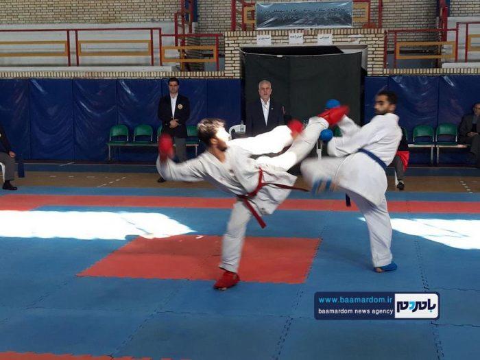 برگزاری مسابقات کاراته دانشجویان پسر دانشگاه آزاد اسلامی استان گیلان در واحد لاهیجان + تصاویر