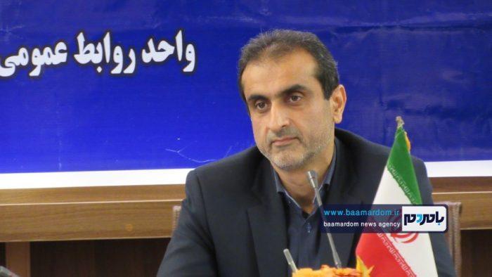 تقدیر ستاد مردمی حامیان دکتر روحانی در لاهیجان از زحمات فرماندار این شهرستان