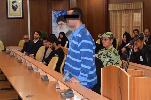 حکم اعدام قاتل اهورا در رشت اجرا شد