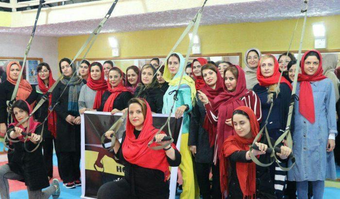 برگزاری همایش ورزشی trx در لاهیجان
