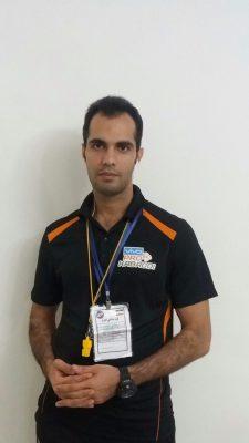 علیزاده 225x400 - حضور 3 گیلانی به عنوان داور در مسابقات آسیایی کبدی