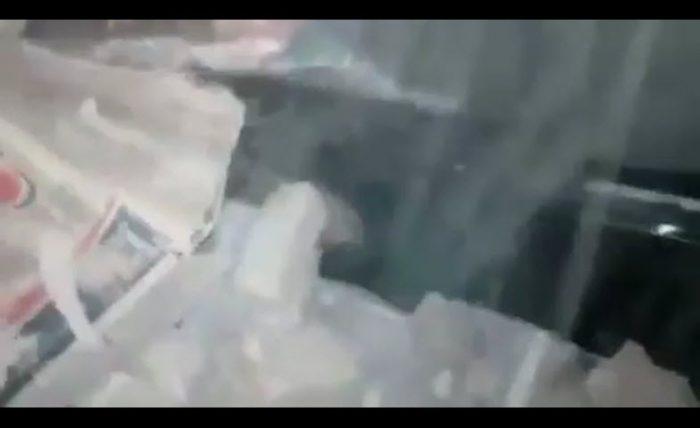 فیلمی اتفاقی از لحظه هولناک زلزله ۷.۳ ریشتری در سرپل ذهاب