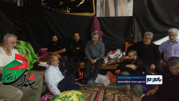 حضور نماینده لاهیجان در موكب این شهرستان در نجف اشرف + تصاویر