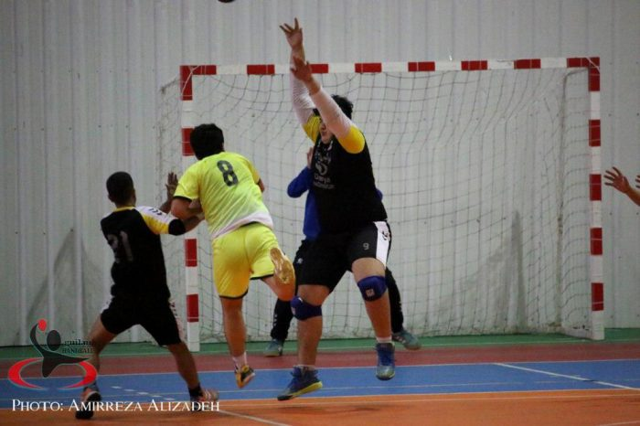 گزارش تصویری روز پایانی و اختتامیه مسابقات قهرمانی هندبال رده سنی جوانان استان گیلان
