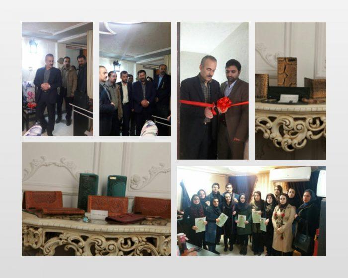 افتتاح یک واحد تولیدی چرم دوزی با اشتغالزایی ۳۲ نفر در سیاهکل