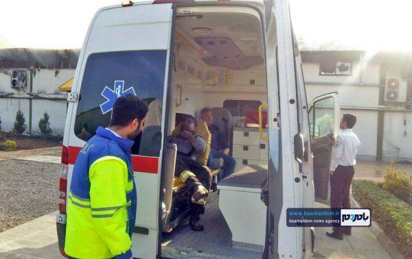 حادثه آتش سوزی هپی لند 1 600x378 - ضرب و شتم تکنسین اورژانس ۱۱۵ لوشان توسط همراهان بیمار