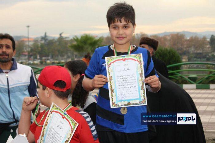 اولین دوره مسابقات ویژه کودکان و نوجوانان در حاشیه استخر لاهیجان برگزار شد + تصاویر