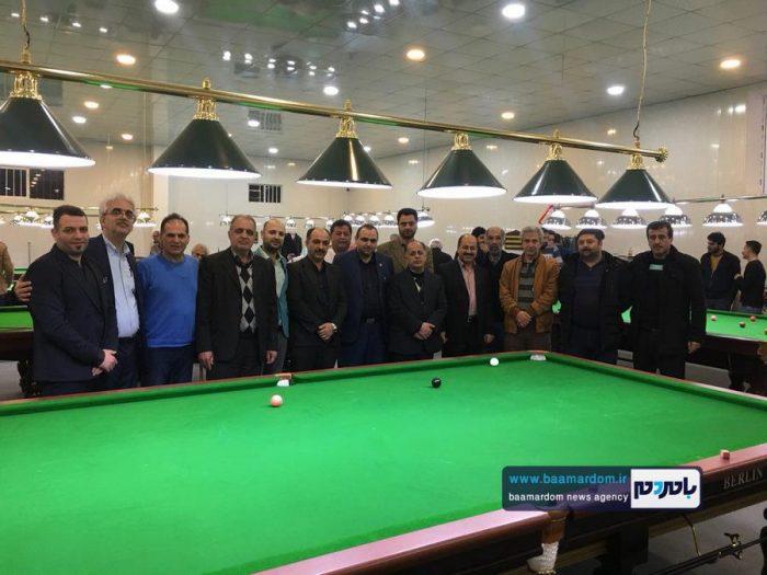 باشگاه بيليارد كيوبال در لاهيجان افتتاح شد   تصاویر