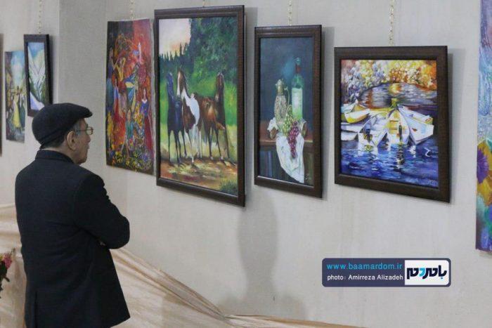 برپایی نمایشگاه نقاشی بر بال پروانه در لاهیجان | گزارش تصویری و گفت و گو