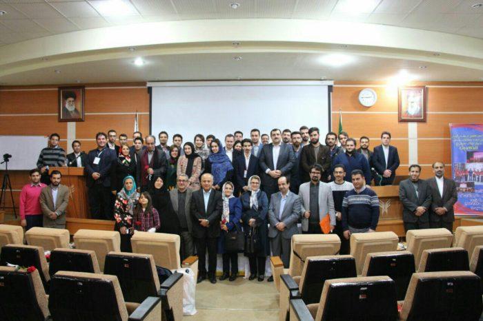 مراسم تجلیل از مقام آوران سومین دوره مسابقات ملی دیوار خاک مسلح در لاهیجان برگزار شد + تصاویر