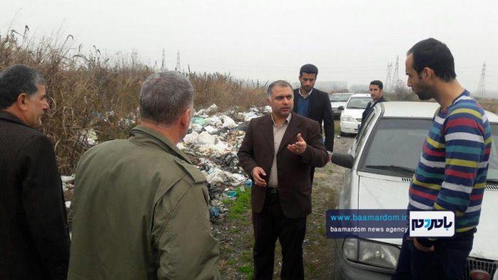 پیگیری مجدانه فرماندار و بخشدار مرکزی آستانه اشرفیه و دستور جمعآوری زبالهها + تصاویر