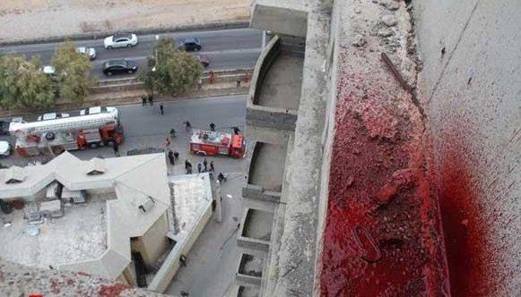 سقوط مرگبار مادر و دو کودک در رضوانشهر + تصاویر