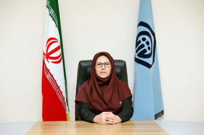 انتصاب آذر جلالی به عنوان رئیس تامین اجتماعی شعبه خمام