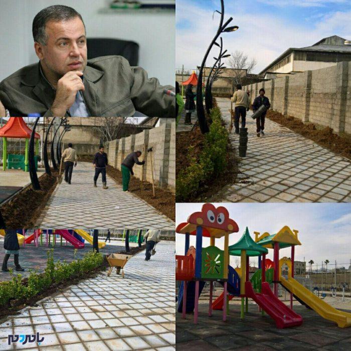 افتتاح دو پروژه در دهه مبارک فجر توسط شهرداری فومن