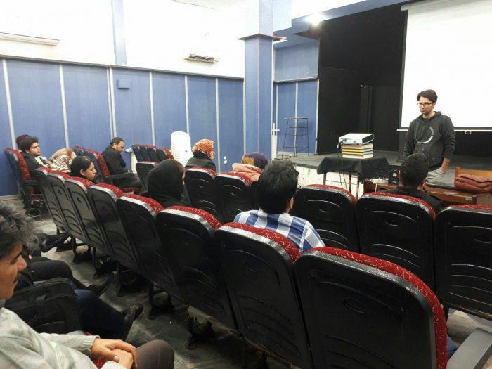برگزاری پنجاه و هفتمین جلسه پاتوق فیلم و فیلمنامه لاهیجان + تصاویر