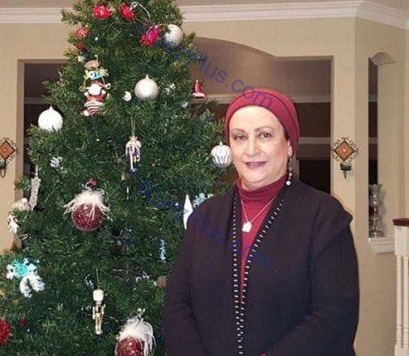 تیپ مریم امیرجلالی 1 460x400 - تیپ متفاوت مریم امیرجلالی در کریسمس+ عکس