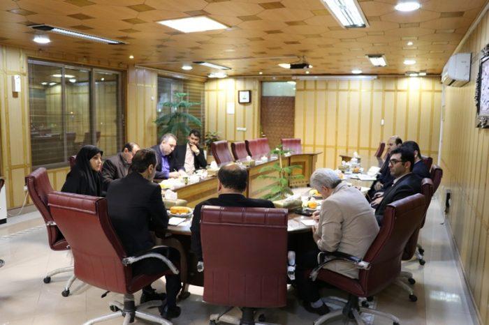 برگزاری جلسه مشترک فرماندار رشت با معاون عمرانی و بخشداران این شهرستان
