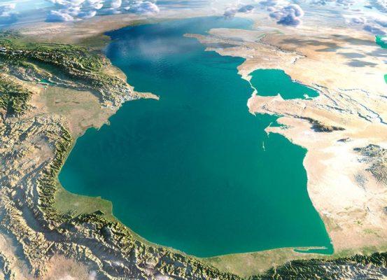 دریای کاسپین 553x400 - پیشروی ۱۰تا ۱۵ متری آب دریای کاسپین در سه سال آینده