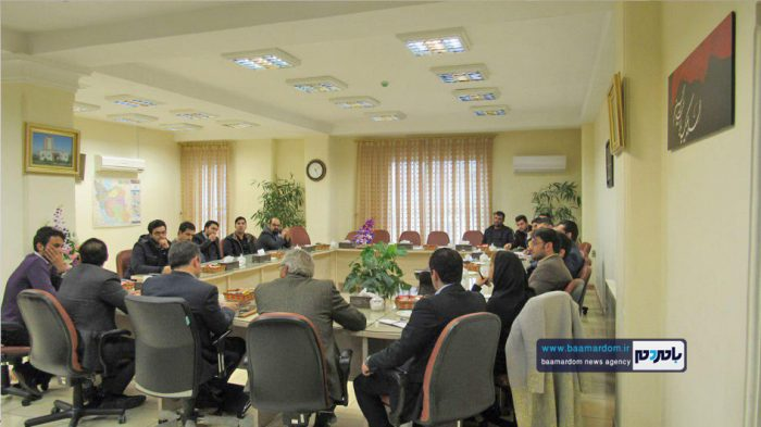دیدار اعضای ستاد مردمی دکتر روحانی و جمعی از حامیان دولت با سرپرست فرمانداری لاهیجان   گزارش تصویری