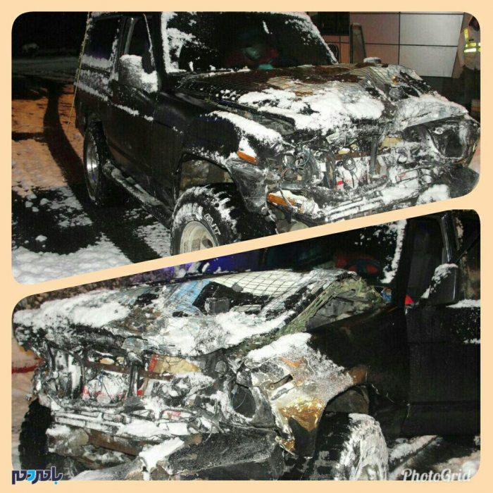 راننده متواری از صحنه تصادف در آزاد راه تهران – شمال دستگير شد