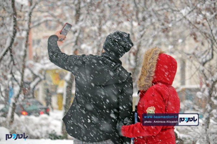 جزئیات بارش برف در استان گیلان / کاهش ۱۵ تا ۲۰ درجه ای دما