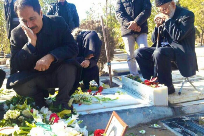 حمید معصومی نژاد عزادار شد + عکس