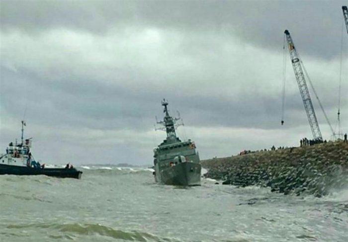 آسیب وارد شده به ناوشکن دماوند در دریای خزر جدی است | ادامه جستجو برای یافتن مفقودین