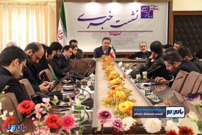 گزارش تصویری نشست خبری سرپرست فرمانداری لاهیجان به مناسبت دهه فجر