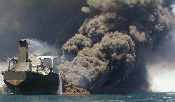 ارتباط راداری نفتکش ایرانی و کشتی چینی چند ساعت قبل از حادثه قطع شده بود