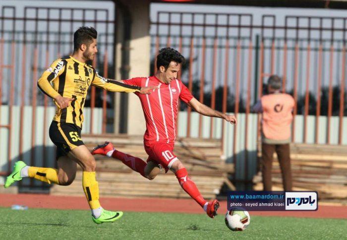 گزارش تصویری دیدار تیمهای سپیدرود رشت و سپاهان اصفهان