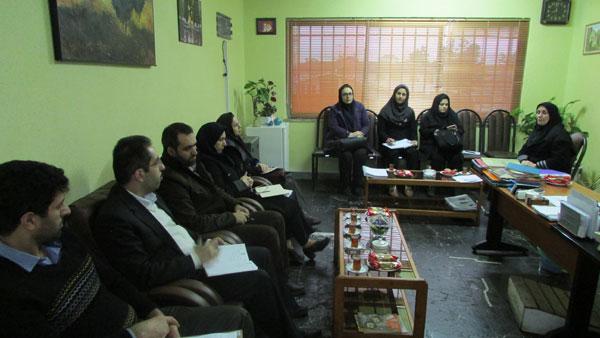 جلسه کمیته فرهنگی هنری دهه فجر شهرستان لاهیجان برگزار شد
