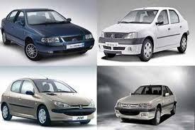 لیست قیمت محصولات سایپا و ایران خودرو
